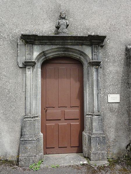 Crantenoy (M-et-M) église, porte