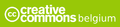 Creative Commons Belgium logo - white on green.PNG