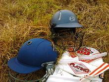 d940c759ee3 Cricket helmet - Wikipedia