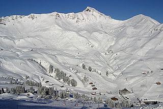 Portes du Soleil ski area in the French Alps