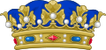 Crown of a Duke of France.svg