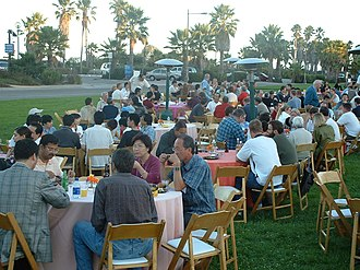 International Cryptology Conference - CRYPTO 2003 conference reception.
