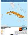 Cuba Population Density, 2000 (5457011881).jpg