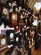 Cuckoo clocks at the Cuckooland Museum, Tabley