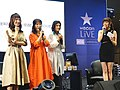 Cuisine Dimension voice actresses and the hostess standing 20190414b.jpg