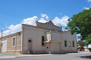 Curramulka - Institute, built in 1885