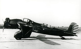 Curtiss A-12 Shrike attack aircraft model by Curtiss