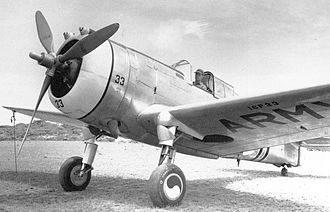 1st Special Operations Wing - Curtiss P-36A 38-33 16th Pursuit Group 1940 (16P33)