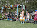 Cyclecide rodeo band and clowns - Bumbershoot 2007.jpg