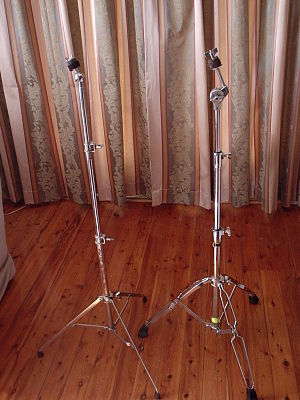 Cymbal stand - Straight stands