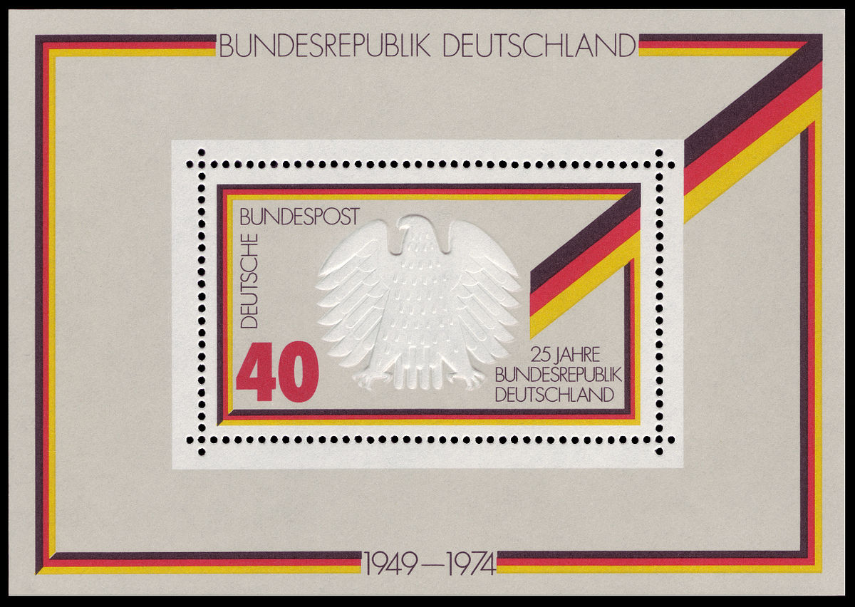 Briefmarken Jahrgang 1974 Der Deutschen Bundespost Wikipedia
