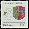 DBP 1993 1663 Wappen Nordrhein-Westfalen.jpg