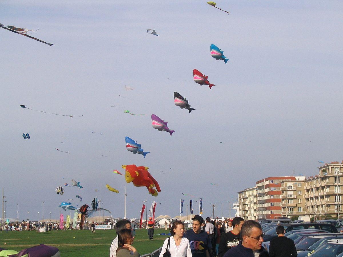 Connu Festival International de Cerf-Volant de Dieppe — Wikipédia ZO96