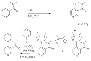 Directed ortho metalation - Directed ortho Metalation-Boronation and Suzuki-Miyaura Cross Coupling of Pyridine Derivatives