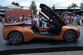 bmw i8 roadster wiki with Bmw I8 on File BMW i3 charging port also 2015 Chevy Spider Truck also 52 Ans De Vie De Porsche Coup Doeil 157622 likewise 92145a570f9656a9 as well Dodge C Series Dodge Wiki.