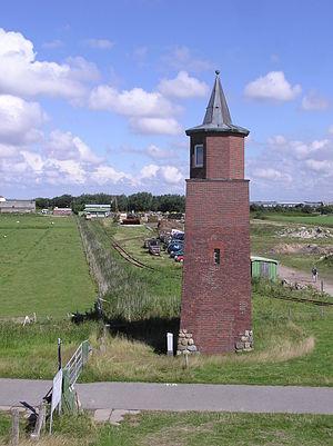 Dagebüll lighthouse - Image: Dagebüll old lighthouse