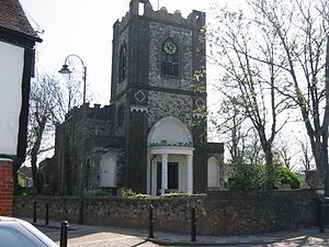 Dagenham - Dagenham parish church