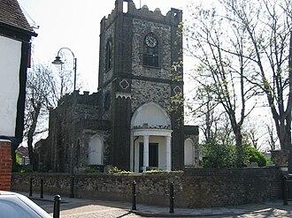 Dagenham - Dagenham parish church