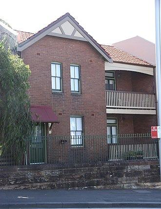 27a-35a Dalgety Road, Millers Point - 33 and 35 Dalgety Road, pictured in 2019.