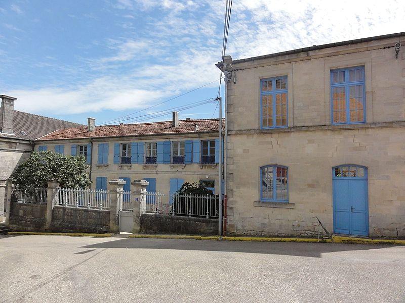 Dammarie-sur-Saulx (Meuse) école des filles