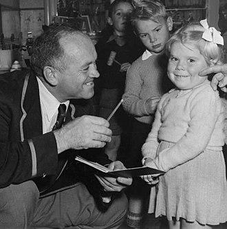 Danie Craven - Craven in New Zealand in 1956
