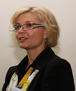 Daniela Kovářová - Image: Daniela Kovářová debata 2009 4