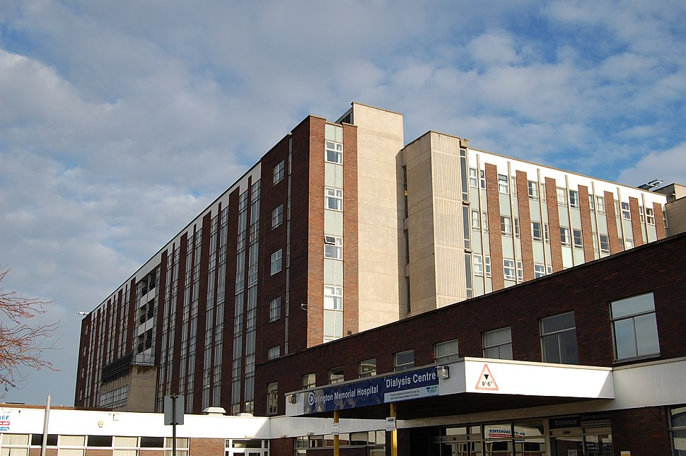 Darlington Memorial Hospital main floors