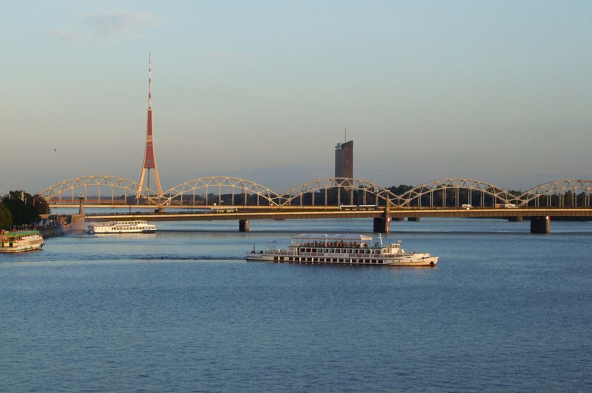река даугава фото