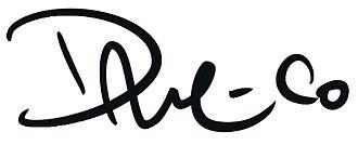 Dave McCaig - Image: Dave Mc Caig's artwork signature