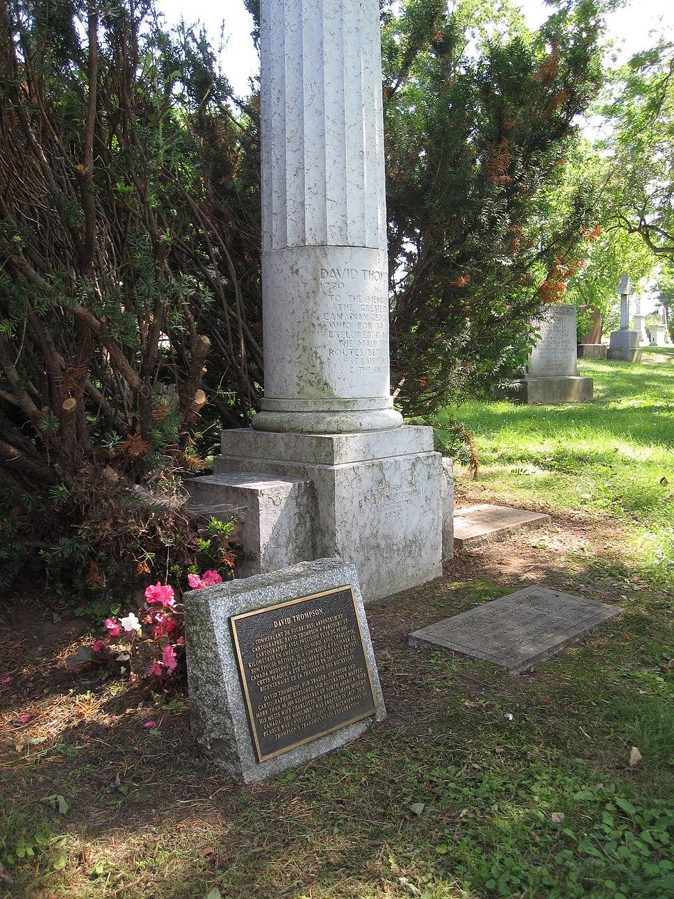 David n Charlotte Thompson grave Montreal QC IMG 6598