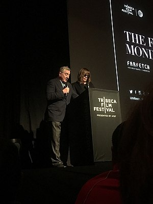 Tribeca Film Festival - Festival founders Jane Rosenthal and Robert De Niro.