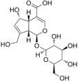 Deacetylasperulosidic acid structure.png