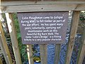 "Dedication plaque on ""Colin's Bridge"" - geograph.org.uk - 1599506.jpg"