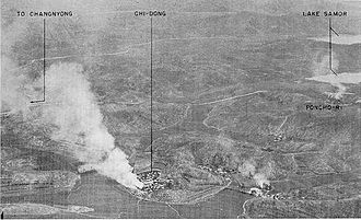 The Great Naktong Offensive - Changyong defensive positions, 1950.