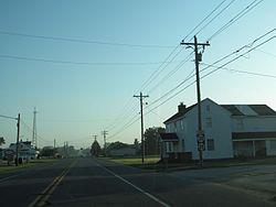 Millsboro Highway in Gumboro