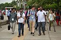 Delegates Visiting Sukhna Lake Complex - Wiki Conference India - Chandigarh 2016-08-07 9005.JPG