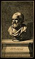Democritus. Line engraving. Wellcome V0001527.jpg