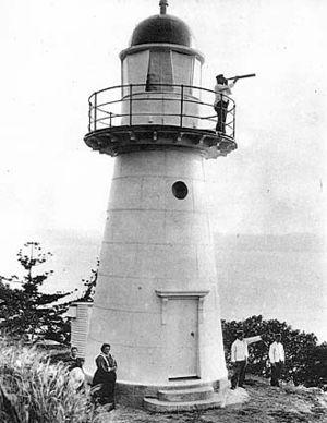 Dent Island Light - Image: Dent Island Light, 1917