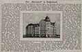 """Der """"Rheinhof"""" in Düsseldorf, Artikel in Rhein und Düssel (Nr. 25) vom 23. Juni 1907, verantwortlicher Redakteur Bruno Schippang. Neueste Nachrichten.jpg"""
