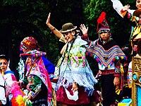 Desfile del día de América en Asturias America's Day parade in Asturias.jpg