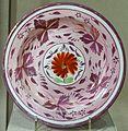 Dessert plate, England, c. 1805-1850, lustreware, earthenware, pigment - Spurlock Museum, UIUC - DSC06125.jpg