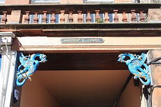 Stewart Henbest Capper - Detail, entrance to Wardrop's Court, Lawnmarket, Edinburgh