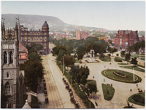Dorchester Square - Dominion Square, ca. 1900