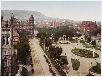 Dorchester Square - Dominion Square, ca. 1900