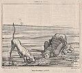 Deux chasseurs altérés, from Croquis de Chasse, published in Le Charivari, September 20, 1859 MET DP876775.jpg