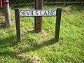 Devils Lane sign, Liphook.jpg