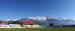 2016 ICC World Twenty20 - Image: Dharamshala stadium,himachal pradesh