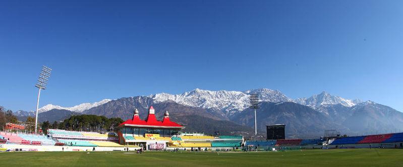 Image result for Himachal Pradesh Cricket Association Stadium
