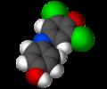 Dichlorphenolindophenol-3D-vdW.png
