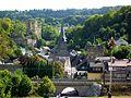 Diez - Balduinstein, Ort und Burgruine.jpg